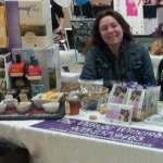 Michelle was there on Sunday with her delicious jellies made from our wines!