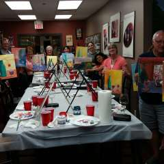 Paint N Sip - September 2015