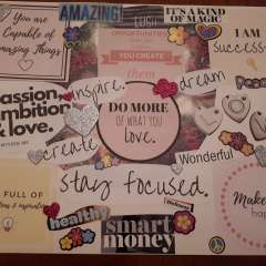 Vision Board Workshop May 17, 2018