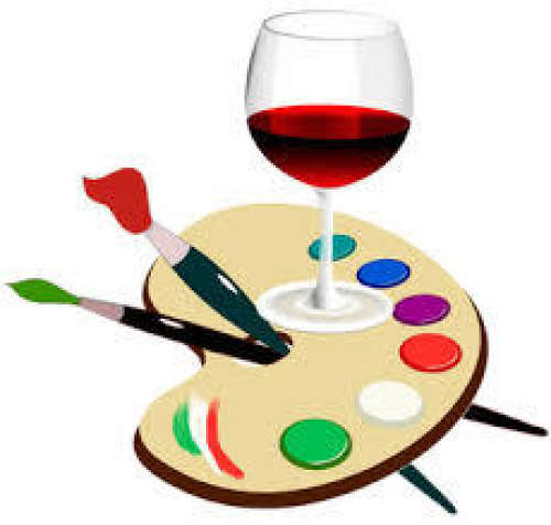 Paint and Wine Evening - May 25th