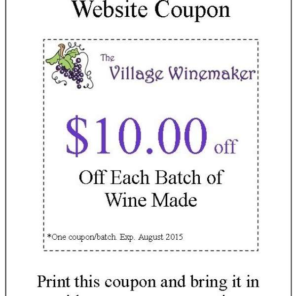 Website Coupon
